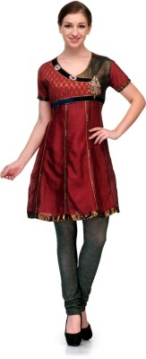 Enchanted Drapes Embroidered Women,s A-line Kurta
