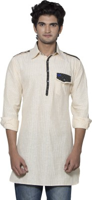 Nauhwar Striped Men,s Pathani Kurta