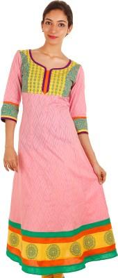 Estyle Printed Women's Anarkali Kurta(Multicolor) at flipkart