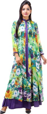Inblue Fashions Printed Women,s Anarkali Kurta