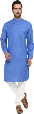 JadeBlue Solid Men's Straight Kurta