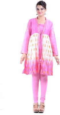 Aashma Fashion LLP Printed Women's Flared Kurta