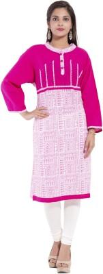 SS Garments Solid Women's Straight Kurta