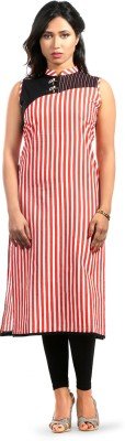 Fab Nisa Striped Women's Straight Kurta