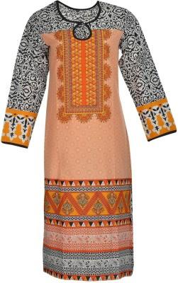 The Darzi Club Embroidered Women's Straight Kurta