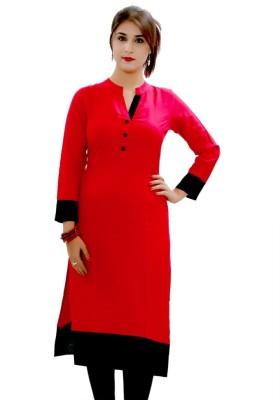 Aayushi Collection Solid Women's Kurti