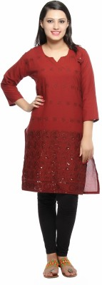 Color Fuel Casual, Festive Solid Women's Kurti