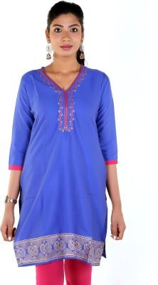 Meenaram Fashions Casual, Formal Embroidered Women's Kurti