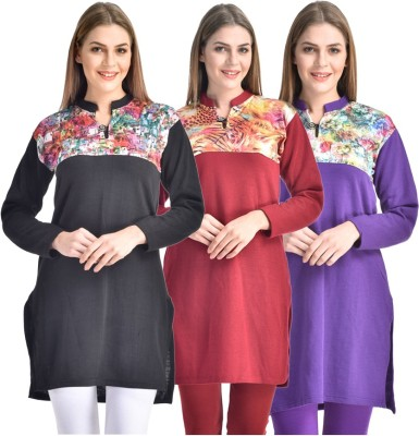 Rakshita Collection Wedding, Casual, Party Solid Women's Kurti