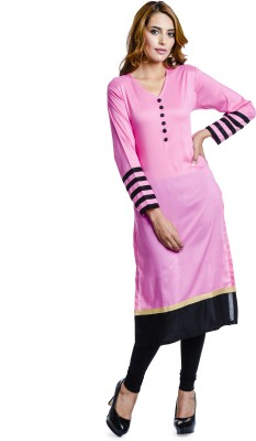 Bebo Casual, Party Solid Women's Kurti