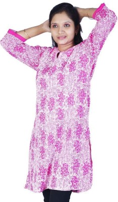 Pioneerpragati Casual Self Design Women's Kurti