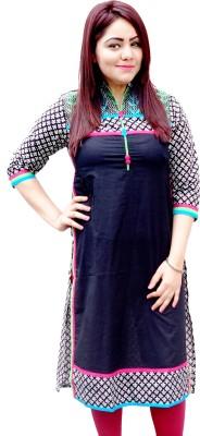 Aavaya Fashion Casual Printed, Embroidered Women's Kurti