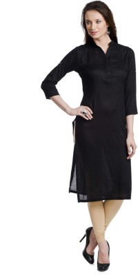 Stay In Style Casual Solid Women's Kurti