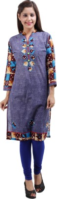 Archiecs Creation Casual, Formal, Festive Self Design Women's Kurti