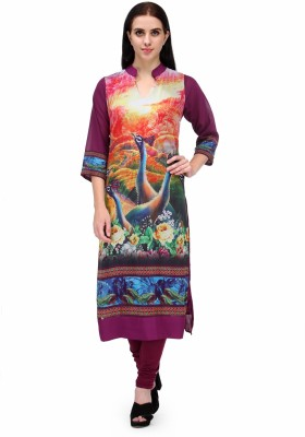 Natty India Casual Printed Women,s Kurti