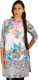 VFA Casual Printed Women's Kurti (Multic...