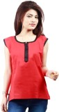 Visach Casual Sleeveless Solid Women's R...