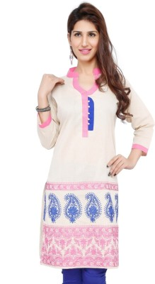 A One Casual Solid Women's Kurti