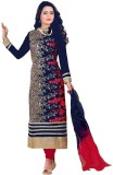 Swastik Creations Georgette Embroidered ...