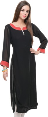 Siara Casual, Party, Formal, Festive, Wedding Solid Women's Kurti