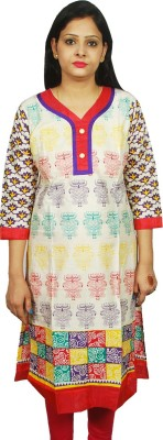 Faves Casual Printed Women,s Kurti