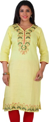 Cute Concepts Casual Embroidered Women,s Kurti