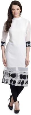 Fashion By Netanya Solid, Digital Print Women's Kurti