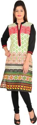 Rajasthan Print Market Printed Women's A-line Kurta(Multicolor) at flipkart