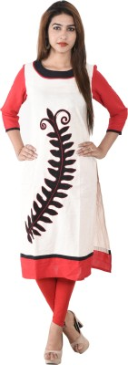 Anu Creations Festive, Casual Embroidered Women's Kurti
