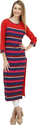Envy Fashion Casual Striped Women's Kurti