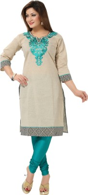 Mahavir K Casual Embroidered Women's Kurti
