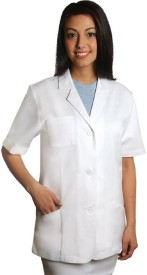 Trident Lab Coat(Cotton Polyester Blend)