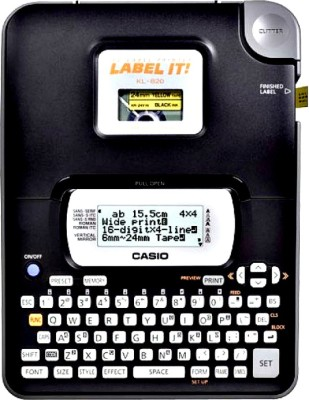 Casio KL-820 Label Stamping Machine(Manual)