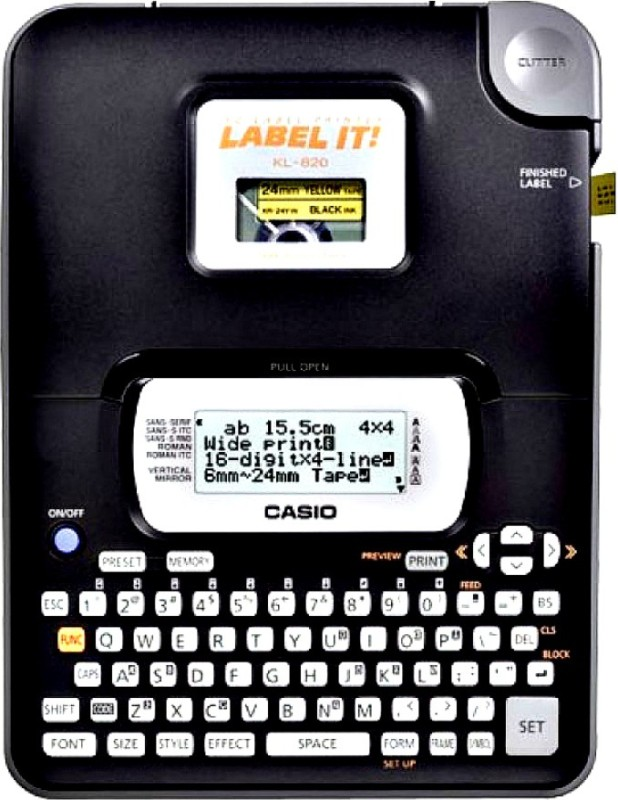 Casio KL-820 Label Stamping Machine(Manual)