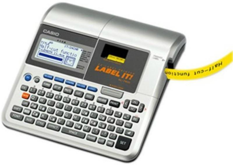 Casio KL -7400 Label Stamping Machine(Manual)