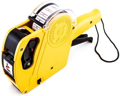 NEXA Price Labeller MX5500 Rate Printer Label Gun 8 Digits 1pc (Yellow) Label Stamping Machine