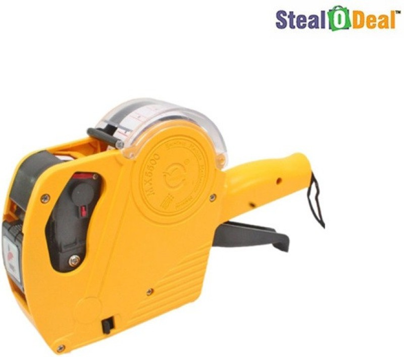 Stealodeal Price Labeller MX - 5500 Single Function Printer Label Stamping Machine(Semi Automatic)