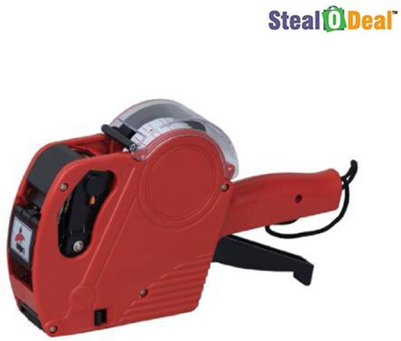 Stealodeal MX-5500 New Price Labeler Printer Label Stamping Machine(Semi Automatic)