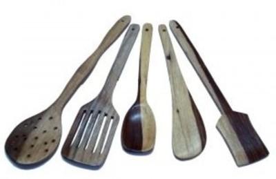 Craftatoz Wooden Cooking Spoon Set