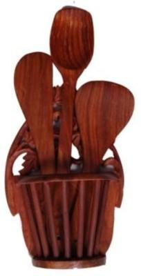 Onlineshoppee AFR844 Wooden Ladle