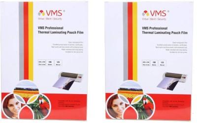 VMS Laminating Sheet(3 mil Pack of 200)