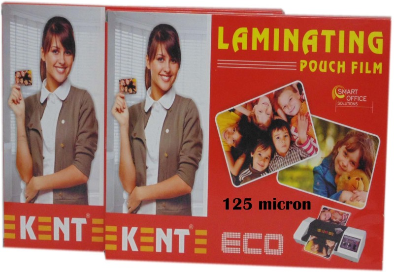Kent A4 Laminating Sheet(125 mil Pack of 2)