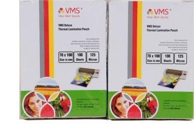 VMS ID Badge Laminating Sheet(0.1 mil Pack of 100)