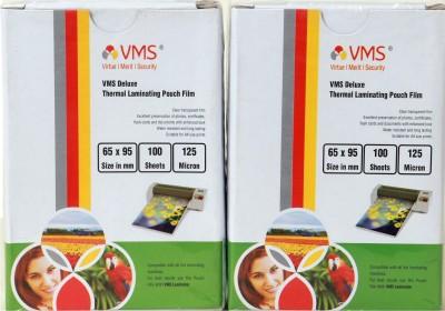 VMS Laminating Sheet(0.1 mil Pack of 100)
