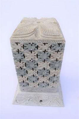 Pooja Creation 15 cm Lamp Base(Stoneware)
