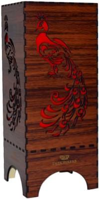 DIZIONARIO Dark Wooden Table Lamps Lamp Shade
