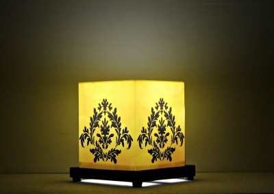 9 Gifts Damask Yellow Table Lamps Lamp Shade