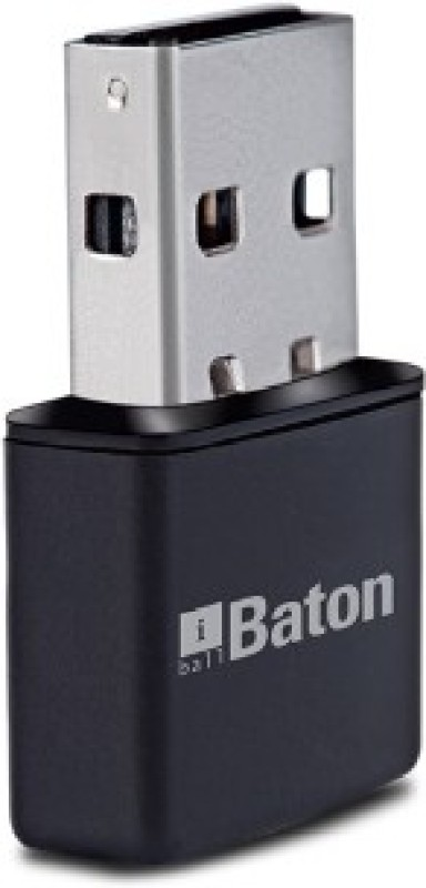 iBall 300M Wireless-N Mini USB iB-WUA300NM Laptop, PC Lan Adapter(300 Mbps)