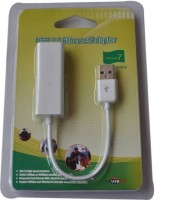 Tech Gear USB 2.0 to Ethernet RJ45 Network with CD Lan Adapter(5000 Mbps)