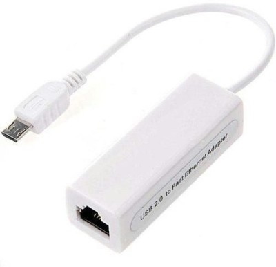 Tech Gear Micro USB To Ethernet Network Lan Adapter